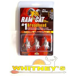 Fulton Precision Archery LLC. Ram Cat Broadheads- 125 Grain -by Smoke Broadheads