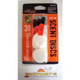 Big Game Treestand Big Game Clip-On Scent Disks 3 Pack SW130