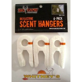 Big Game Treestand Big Game Reflective Scent Hangers 6-pack SW100