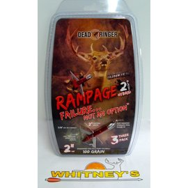 "Dead Ringer LLC Dead Ringer Rampage 100 Grain 2"" cutting diameter- 3PK-DR4712-Adrenaline Junkies"