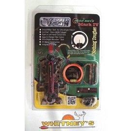 Copper John Corp. Copper John Dead Nuts 3 Mark IV - 1 Pin Fiber Sight Non Micro Camo 0.019
