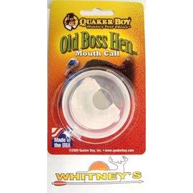 Quaker Boy Quaker Boy Hunter's First Choice Old Boss Hen Turkey Mouth Call 1109
