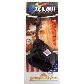 T.R.U. Ball T.R.U./Tru Ball Bandit Buckle Standard Jaw Release Black Large TBDB-BK-L