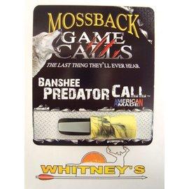 Moss Back Calls Mossback Game Calls Banshee Predator Call MGCBEC