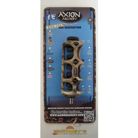 "Axion Archery Axion Archery Silencer 2nd Generation SSG 4"" Stabilizer Mossy Oak AAA-3304MOI"