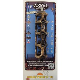 "Axion Archery Axion Archery Silencer 2nd Generation SSG 6"" Stabilizer Lost Camo AAA-3304LC"