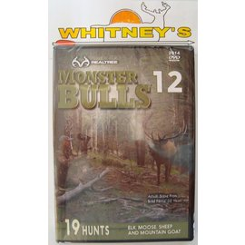 Realtree Outdoors Realtree 2014 Monster Bulls 12 Hunting DVD 19 Hunts 0143