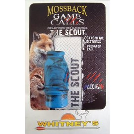 Moss Back Calls Mossback Game Calls The Scout Cottontail Distress Predator Call MGCCTD