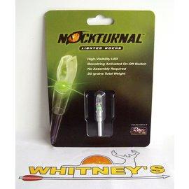 Nockturnal Nockturnal Lighted Nocks NT-403 H Green-Single Pack