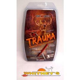 """Dead Ringer LLC Dead Ringer Trauma 100 Gr., 2 Blade, 2.5"""" Cut -DR4767"""