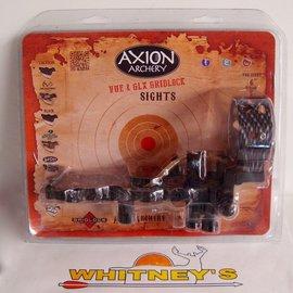 Axion Archery Axion Archery Gridlock GLX 5 Pin Micro Fiber Optic Sight -LEFT Hand #AAA-1605TLH