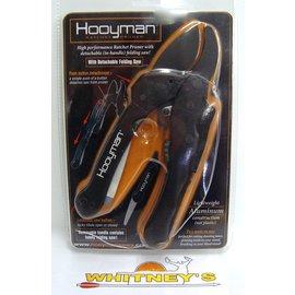 Hooyman Hooyman Ratchet Pruners - Black - 69485