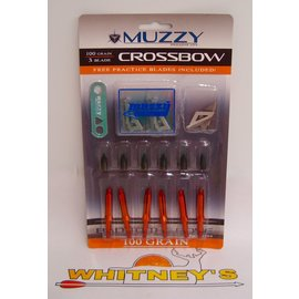 Muzzy Products Muzzy 3 Blade 100 Grain Crossbow Broadhead - #225-X