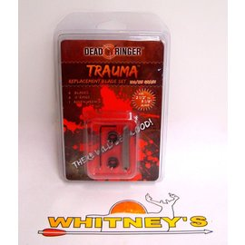 Dead Ringer LLC Dead Ringer Trauma 100/125 Grain-Replacement Blade Set-DR4781