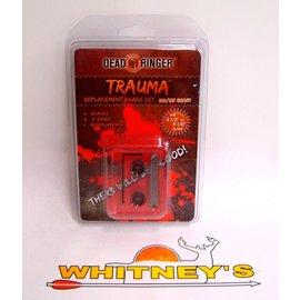 Dead Ringer LLC Dead Ringer Trauma 100/125 Grain-Replacement Blade Set-DR4781