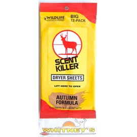 "Wildlife Research Center Wildlife Research Center - Scent Killer Dryer Sheets - 6.4"" x 9"""