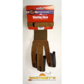 Neet Archery Products Neet Archery Products - Adult X-Large Shooting Glove - Brown Suede