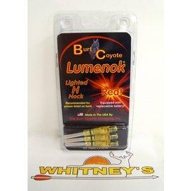 Burt Coyote Co., Inc. Burt Coyote Lumenok Lighted ST Epic H - Red - 3 Pack