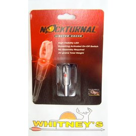 Nockturnal Nockturnal Lighted Nocks NT-400 H Red-Single Pack