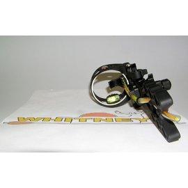 Apex Gear Apex Gear Gamechanger 5 Pin Fiber Optic Sight - Black