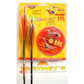 Magnus Outdoor Products Magnus - Bullhead Broadhead & Arrow Package- 100 Grain - Turkey Broadhead
