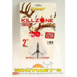 New Archery Products (NAP) NAP KILLZONE Cut-on-Contact -125 Grain Broadheads /Expandable Broadhead