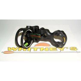 Apex Gear Apex Gear Tundra 3 Pin Fiber Optic Sight - Black