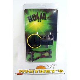 GWS GWS Nova - 3 Right Hand 3 Pin Fiber Optic Sight Black