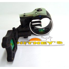 Field Logic, Inc. NEW IQ Ultra Lite Bowsight - 5 pin - Black Left Hand - Item # 00345