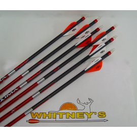 Eastman Outdoors 6 Carbon Express Maxima RED 250 with Blazer Vanes