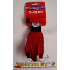 Neet Archery Products Neet Archery Products - Youth Shooting Glove - Red - Small NY-G2-N 60029