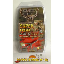 "Dead Ringer LLC Dead Ringer Super Freak 100 Gr., 2 Blade, 1 3/4"" To 2 1/4"" Cut-DR5207"