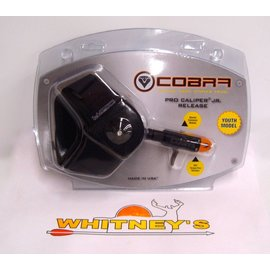 Cobra Cobra Pro Caliper Bravo Jr. Youth Release Black C-319O