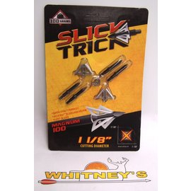 Slick Trick Slick Trick- Magnum 100 Broadhead- 100 Grain-4PK