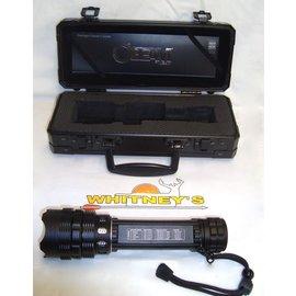 Nebo NEBO o2 Beam TACTICAL High Power Flashlight w/ Hard Carrying Case-Item #6000