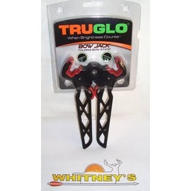 TRU GLO TruGlo Bow Stand Black/Red-00395BR