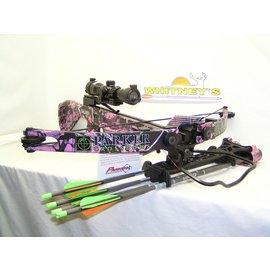 Parker Compound Parker Challenger Muddy Girl-Illuminated Scope Crossbow Pkg. X403-IR