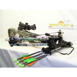 Parker Compound Parker Thunderhawk High Performance Crossbow Package- Multi Reticle