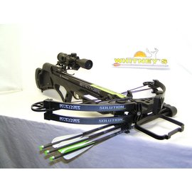 BowTech Bowtech 2016 Stryker Solution Crossbow Package - 350 FPS - Black