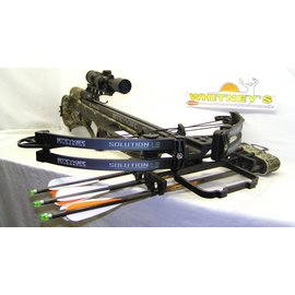 BowTech NEW 2016 Bowtech Stryker Solution LS Crossbow Package-390 FPS-Camo-Cocking Rope