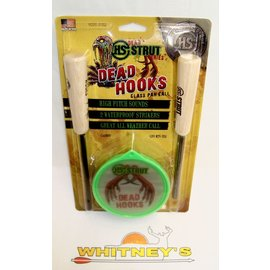 Hunter Specialties (HS) Hunter's Specialties Strut-Dead Hooks Glass Pan Call-D1950