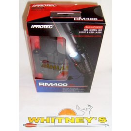 Nebo NEBO iProtec Rail-Mounted LED Firearm Light And Red Laser RM400LSR-#6086