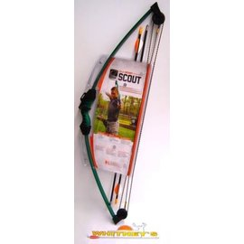 Escalade Bear Scout Youth Archery Bow - Green Right / Left Hand #AYS6000