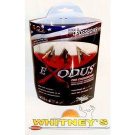 Quality Archery Design Quality Archery Designs-QAD- Exodus Swept Blades Crossbow Broadhead - 125 Grain