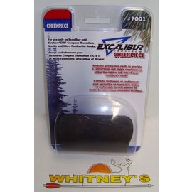 "Excalibur Excalibur Cheek Piece ""CTS""Stock-Black # 7001"