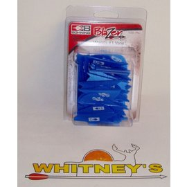 Bohning Company, LTD Bohning Blazer Vanes - 100 pack in Satin Blue