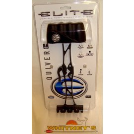 Elite Inc. Elite 1 Piece Quiver-4 Arrow-BLACK-#3714