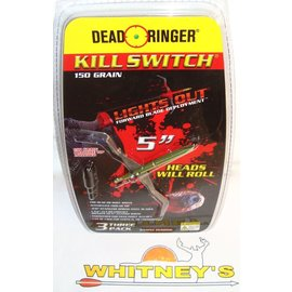 "Dead Ringer LLC Dead Ringer KILL SWITCH-5""- 150 Grain-DR5200"