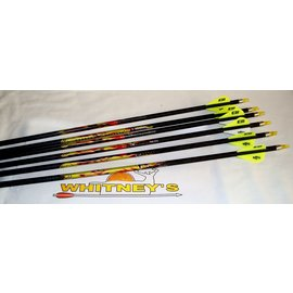 Eastman Outdoors Carbon Express Mayhem 350 Arrows with Blazer Vanes - 6 Pack - Item# T1322