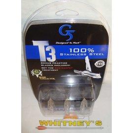 G5 G5 T3 100 Grain Broadheads-177